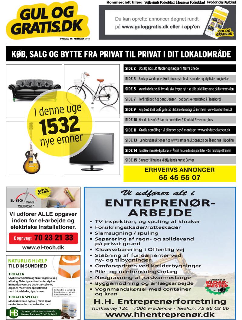 00f502e3 Gul og Gratis - Vejle Amtsfolkeblad - 16-02-2018
