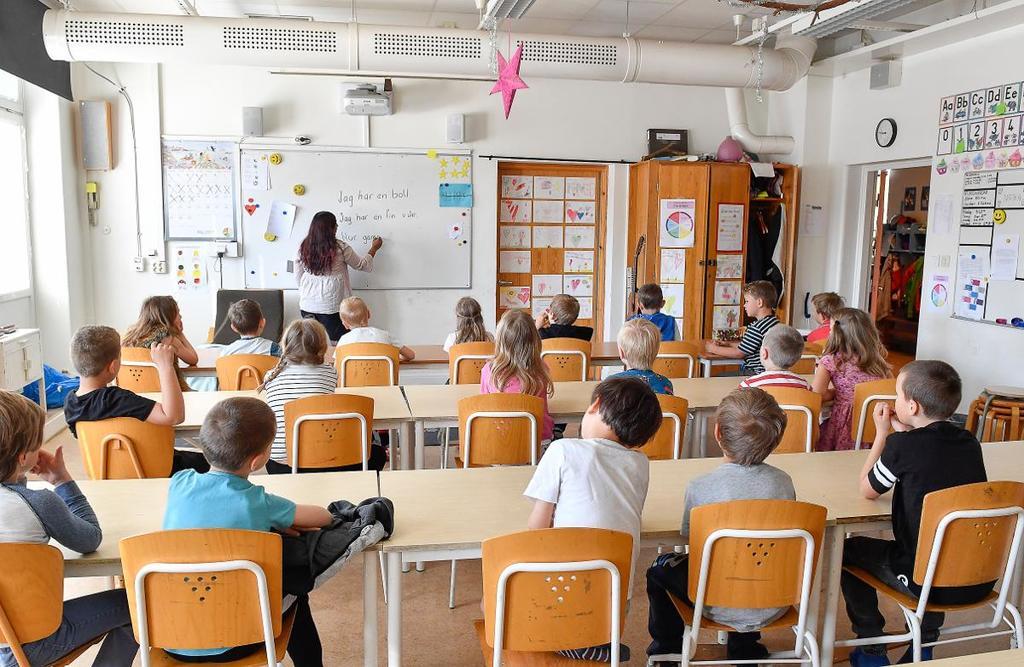 Både Bua och Väröbacka väntas växa i befolkning. Med det behövs fler förskole- och grundskoleplatser. Bilden är en arkivbild. (Bild: Jonas Ekströmer/TT)