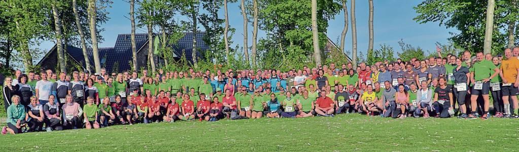Die Vereine, Lauftreffs und Firmen aus dem Harlingerland sind auch in diesem Jahr beim Ossiloop stark vertreten. BILD: Jochen Schrievers