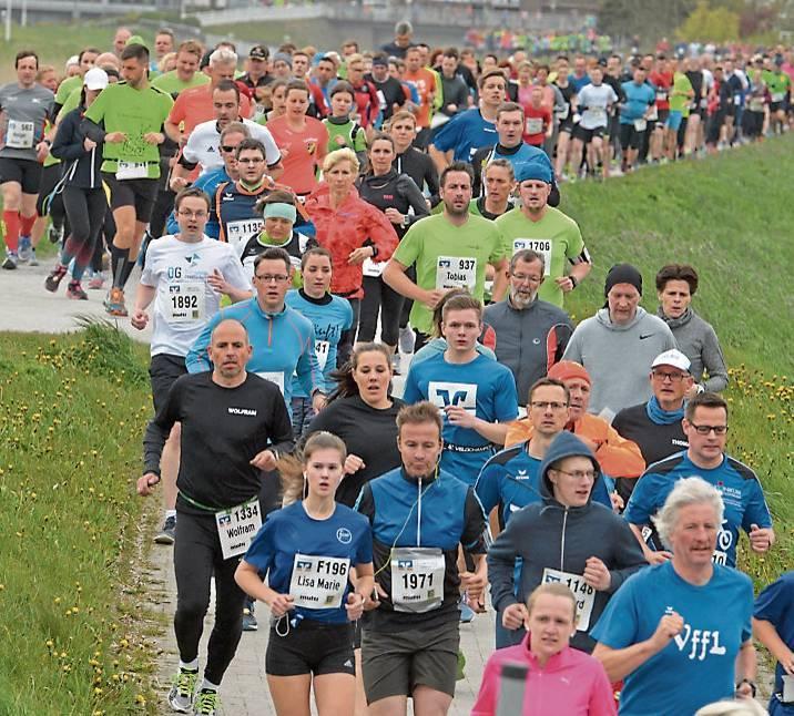 Knapp drei Monate vor dem ersten Startschuss haben sich bereits mehr als 1800 Läufer  angemeldet.    BILD: Joachim Albers