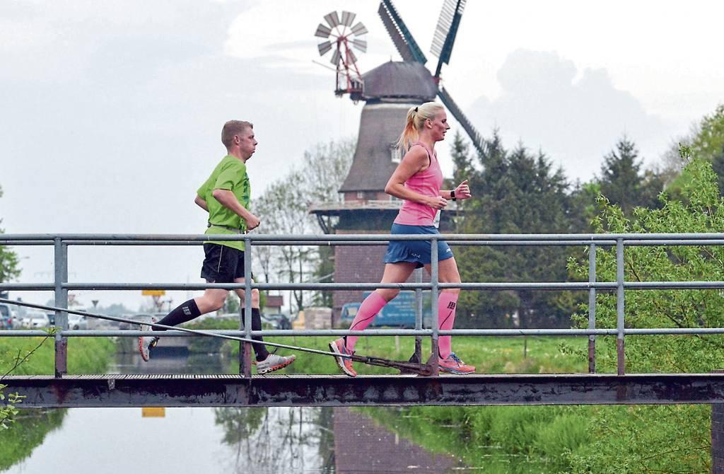 Dieses Jahr wird es statt großen Gruppen nur einzelne Läufer geben.BILD: Joachim Albers