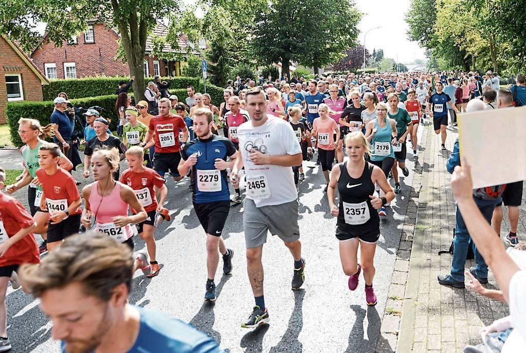 Ob der beliebte Schortenser Jever-Fun-Lauf wie in den vergangenen Jahren stattfinden  kann, ist noch nicht sicher. Die Verantwortlichen beraten Ende April.   BILD: Thomas Breves