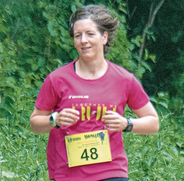 Dr. Heike Piotrowski ist Läuferinbei der LG Har- lingerland.  ARCHIVBILD: Timon Schneider