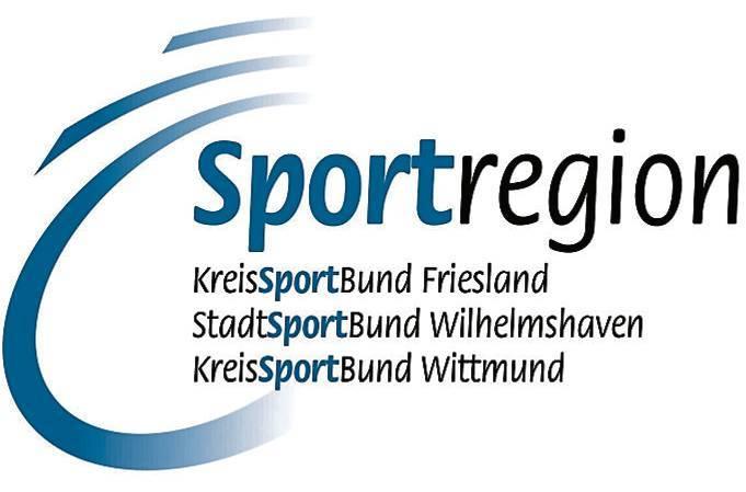 Sportregion Friesland Wittmund Wilhelmshaven, Logo Wappen, Sportbund, Kreissportbund,  Stadtsportbund, Bild: Sportregion   BILD: Sportregion