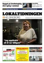 Förstasida Lokaltidningen Helsingborg