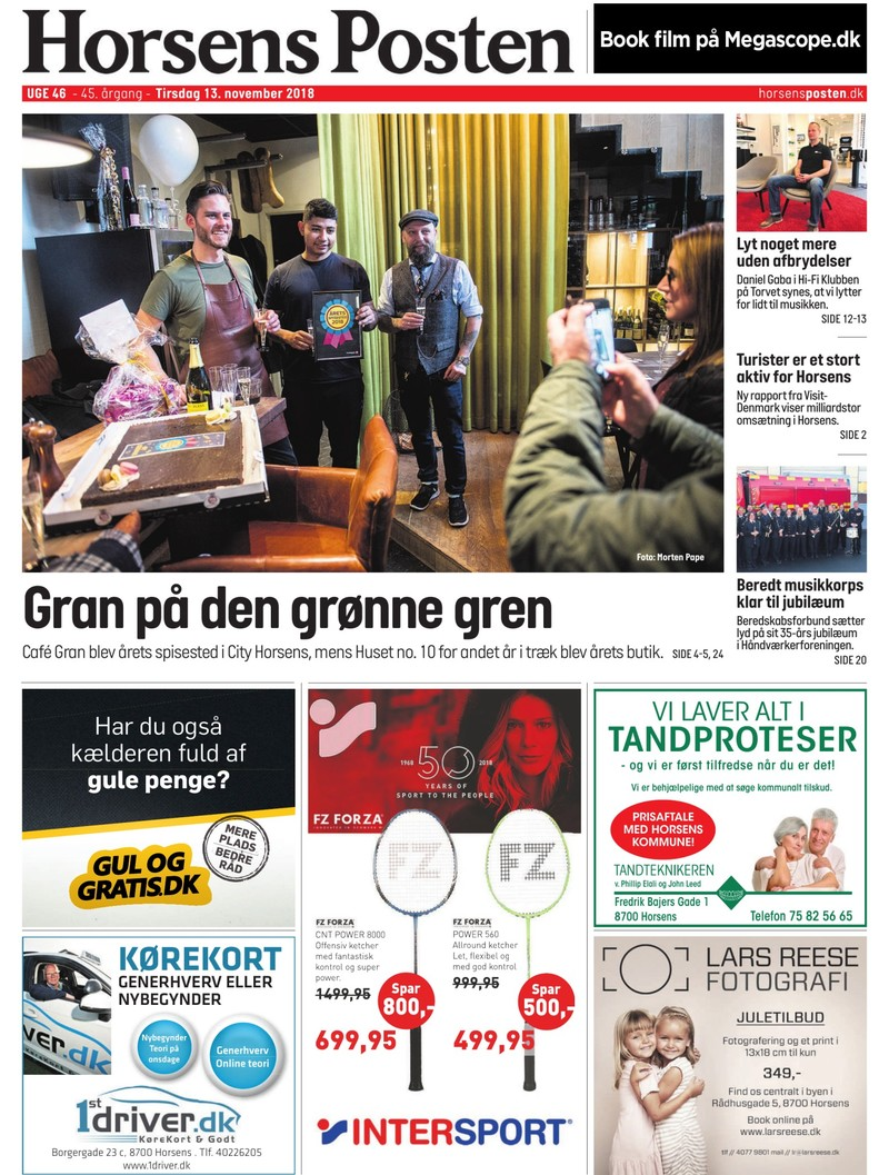 Horsens Posten 13 11 2018