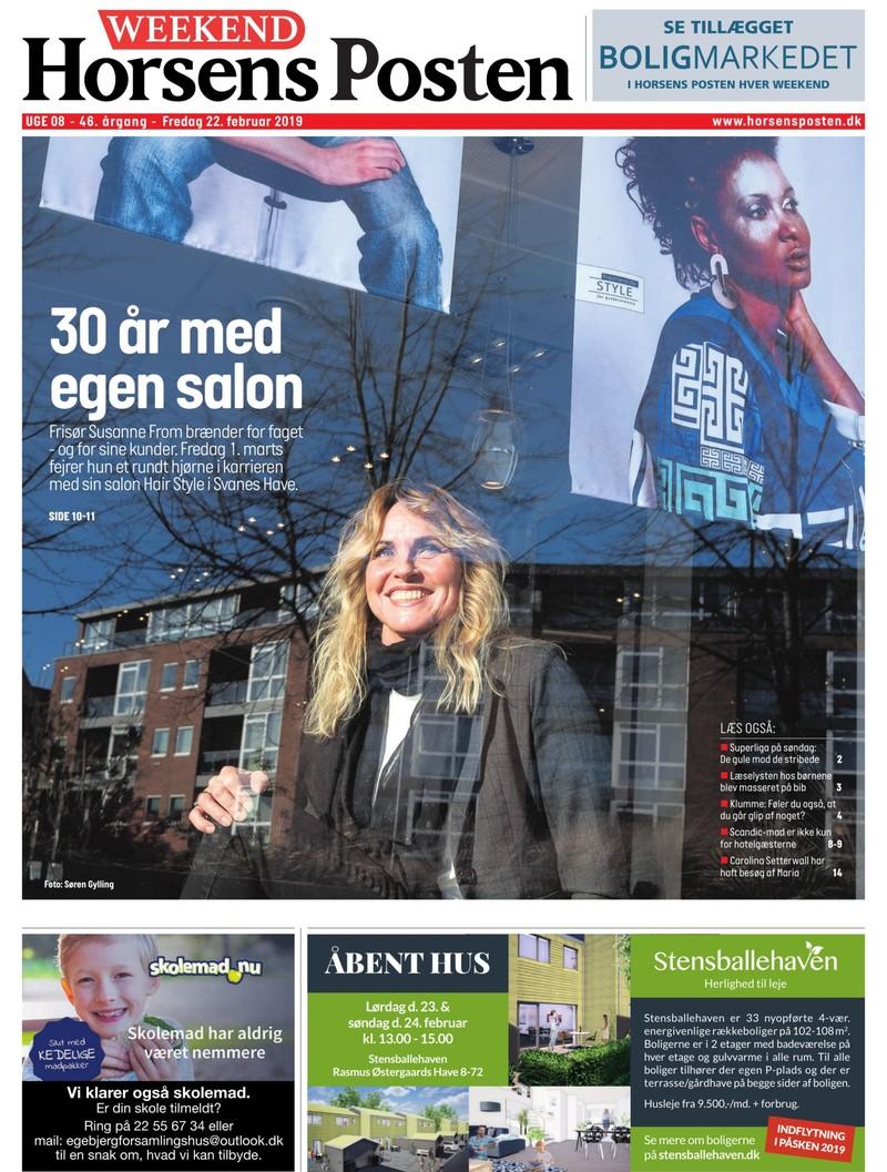 208ed275c66 Horsens Posten Weekend - 22-02-2019