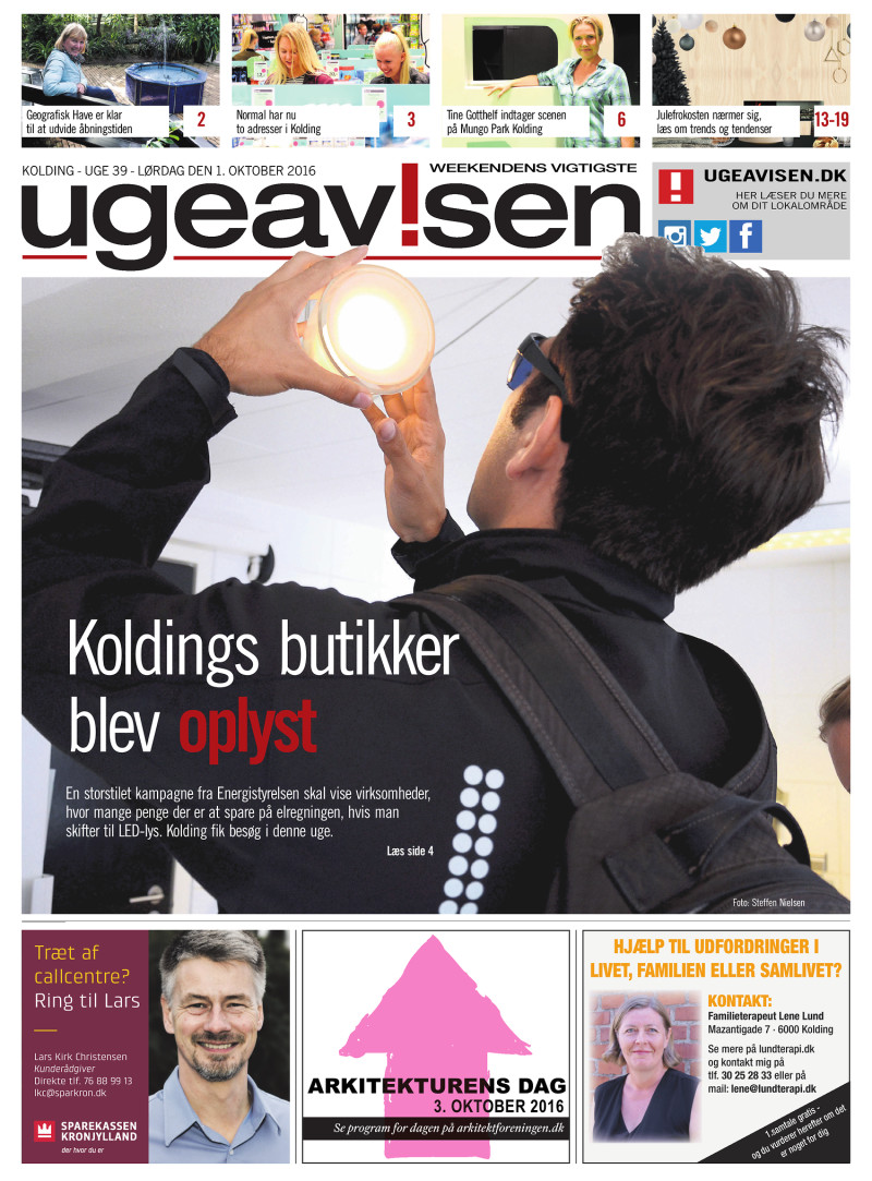 www side dk liva kolding åbningstider