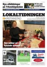 Förstasida Lokaltidningen Kristianstad