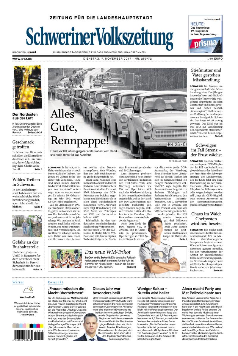 Schweriner Vokszeitung