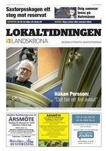 Förstasida Lokaltidningen Landskrona