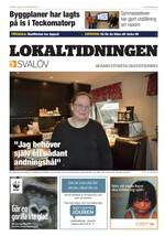 Förstasida Lokaltidningen Svalöv