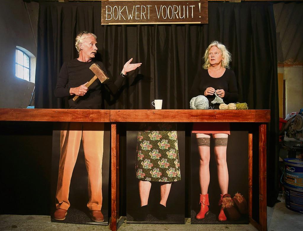 Leeuwarder Courant (31/5/2017): Bokwerd herrijst in theater