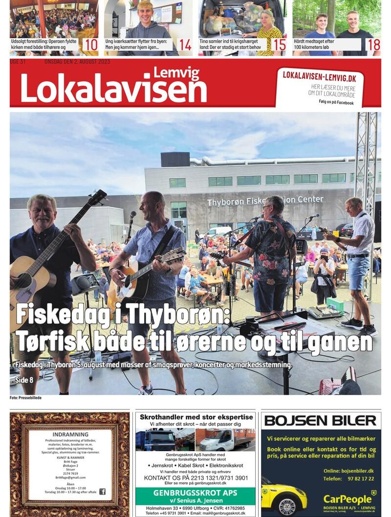 Lokalavisen Lemvig | Nyheder fra Lokalavisen Lemvig