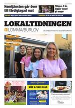 Förstasida Lokaltidningen Lomma & Burlöv