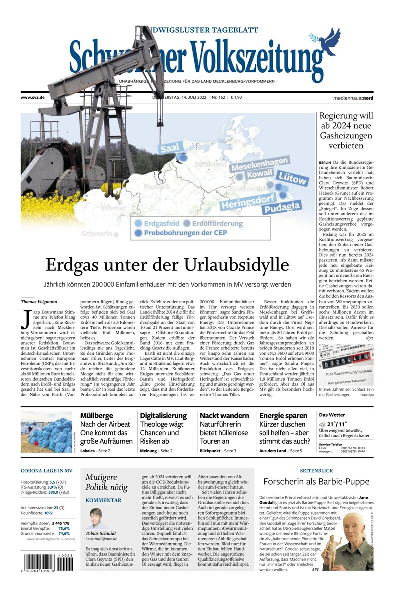 Ludwigsluster Tageblatt