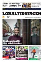 Förstasida Lokaltidningen Lund