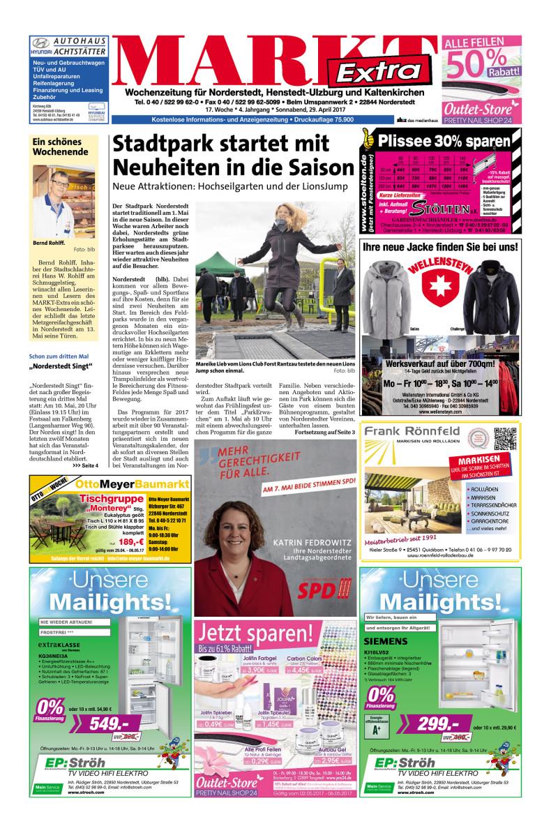 Wochenzeitung Fur Norderstedt Henstedt Ulzburg Und Kaltenkirchen