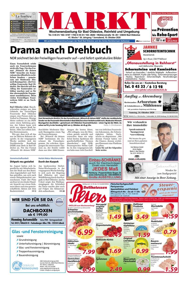 MARKT Bad Oldesloe e-paper » Lokale Wochenzeitungen