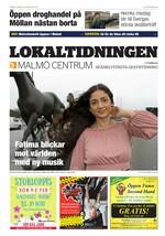 Förstasida Lokaltidningen Malmö Centrum