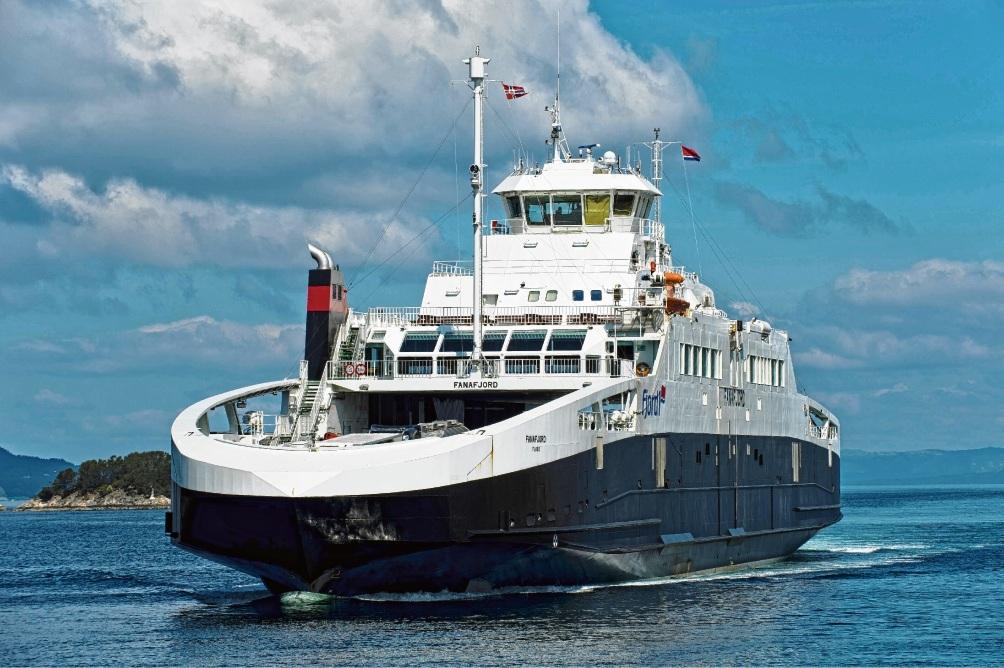 Sie soll es sein, wenn der Betrieb aufgenommen wird: die MS Fanafjord. Noch allerdings ist die Fähre in Norwegen im Einsatz.imago stock&people