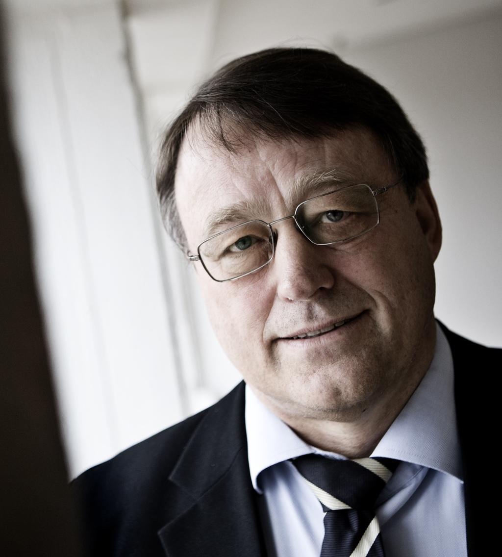 - Det var på tide at diskutere sparekassens fremtid, sagde Flemming Nytoft Rasmussen.Foto: Valdemar Jørgensen?/Ritzau Scanpix