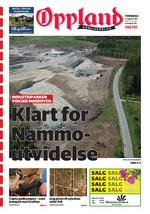 Forside Oppland Arbeiderblad