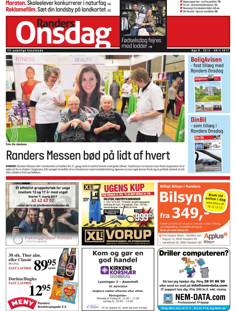 1051f9e4ecdb Randers Onsdag - Uge 08