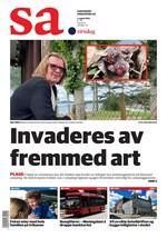 Forside Sarpsborg Arbeiderblad