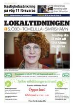 Förstasida Lokaltidningen Sjöbo