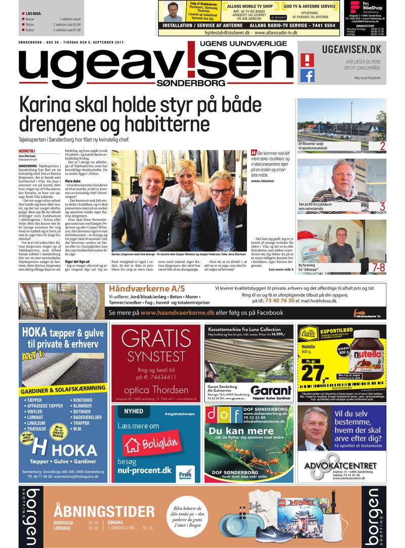 9c91ffae2dc Sonderborg Ugeavis - 05-09-2017
