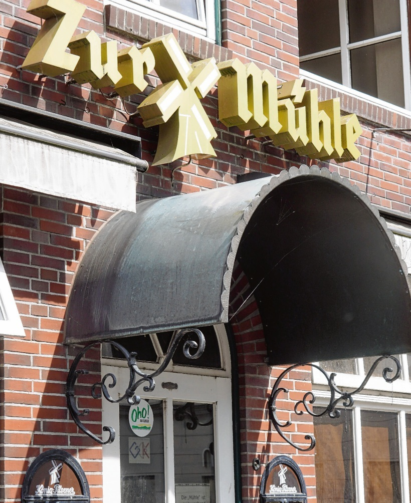 """Der Eingang """"Zur Mühle"""" in der Fußgängerzone. nie"""