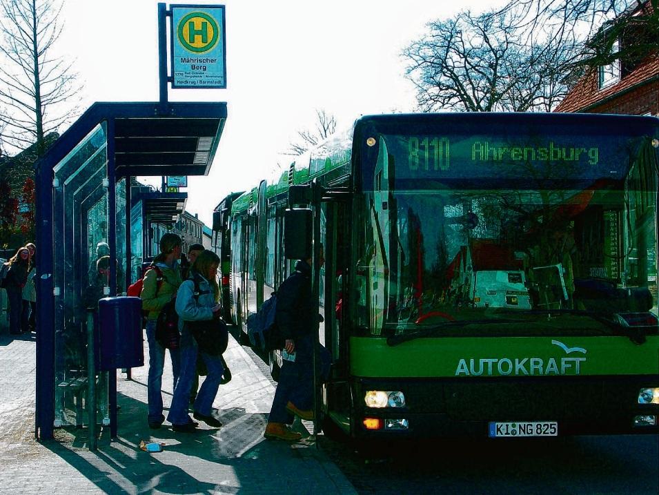 Die Linie 8110 ist die nachfragestärkste Buslinie  im nördlichen Kreisgebiet und soll bald häufiger fahren. rob
