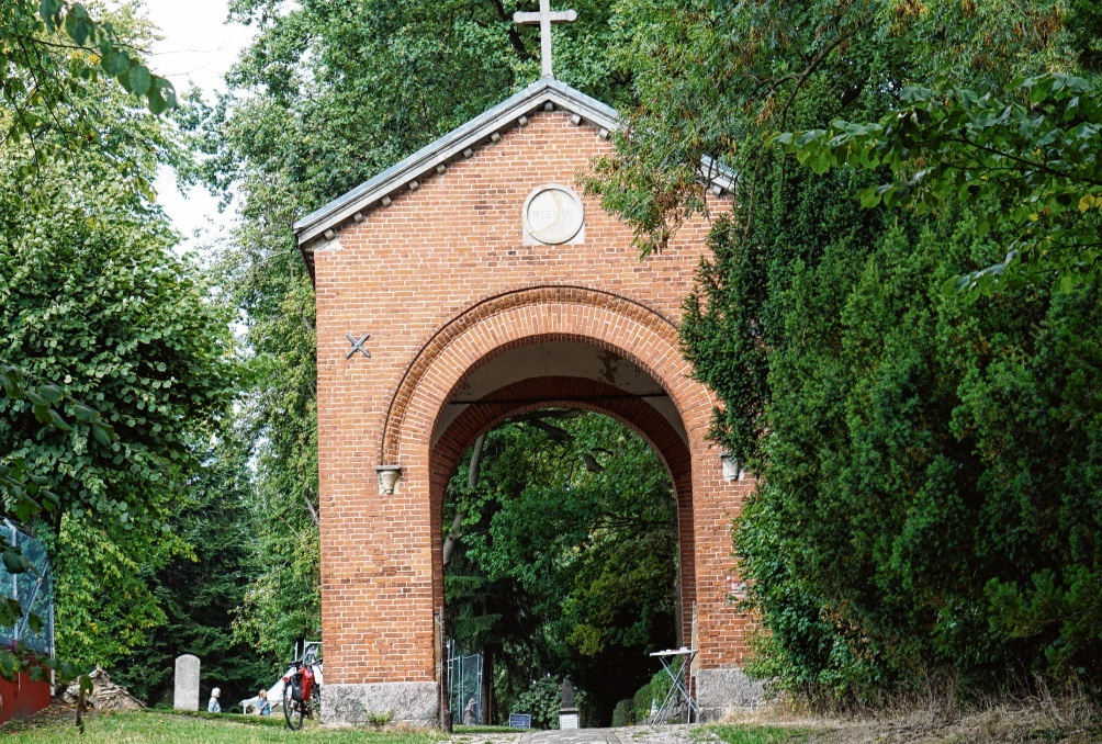 Stadtbild prägend: Das historische Eingangstor.