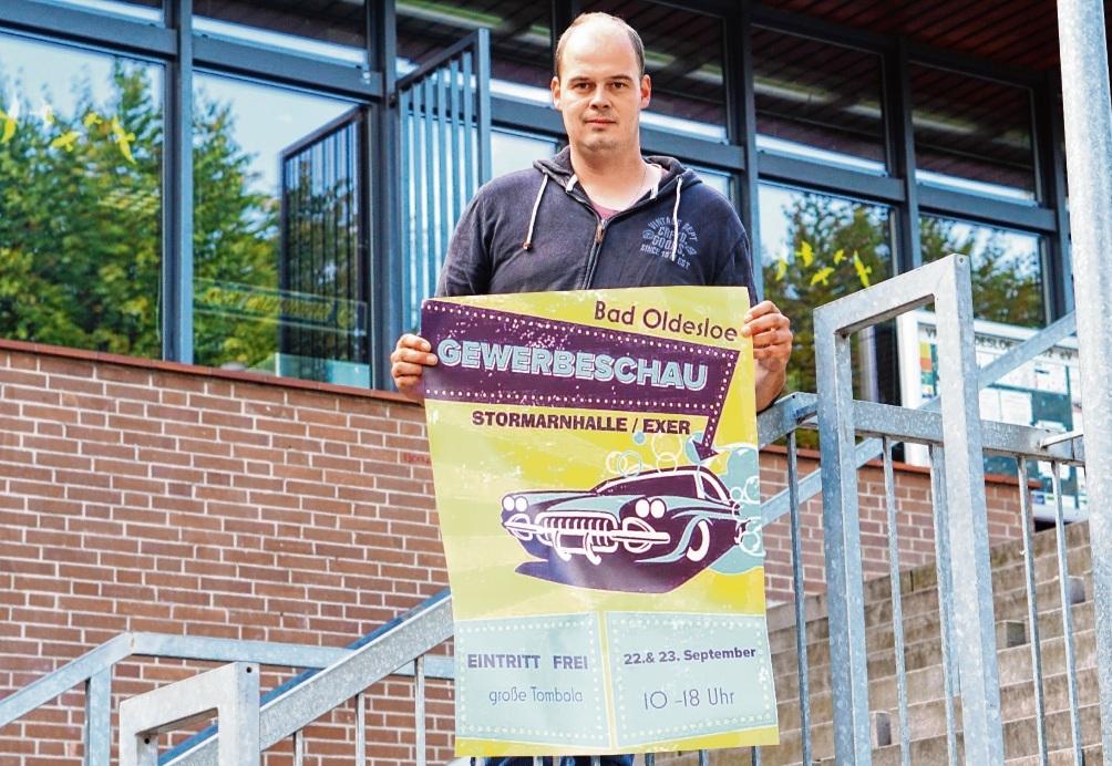 Veranstalter Sebastian Hagen. nie