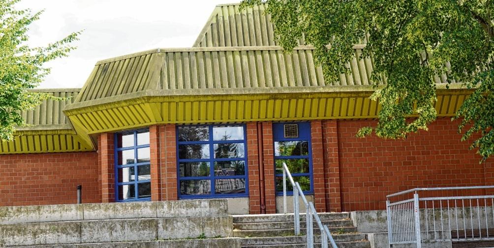 Oldesloes bisher größte Sporthalle: Die  Heinrich-Vogler-Halle im Schulzentrum. Nie
