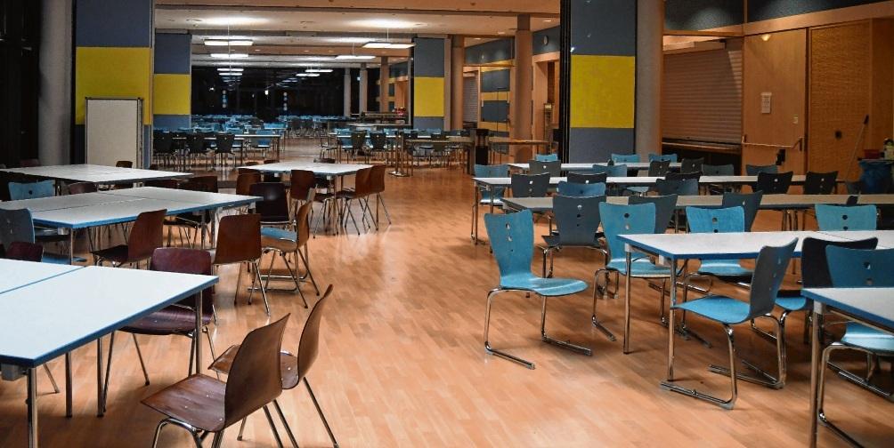 Die Mensa am Schulzentrum in Bad Oldesloe soll  mehr Aufenthaltsqualität bekommen.Nie