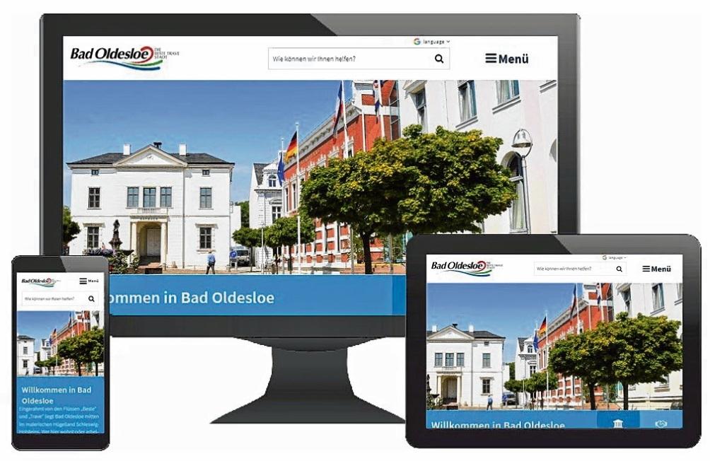 Vorbildlich: Die Stadt Bad Oldesloe hat  Alltagshürden für Menschen mit Handicaps  im Netz verringert. st
