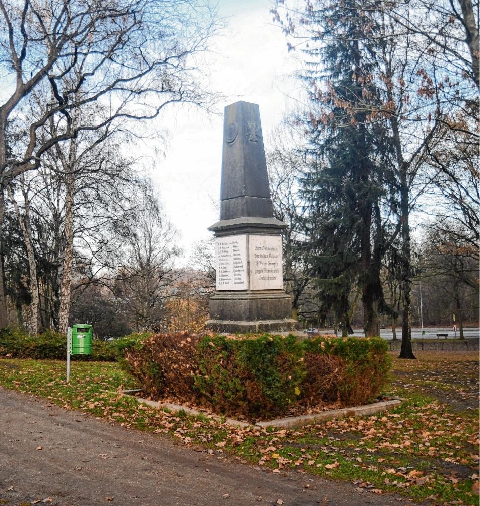 Der Obelisk heute....