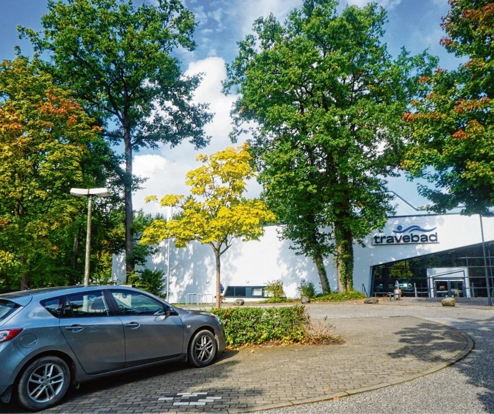 Travebad Parkplatznie