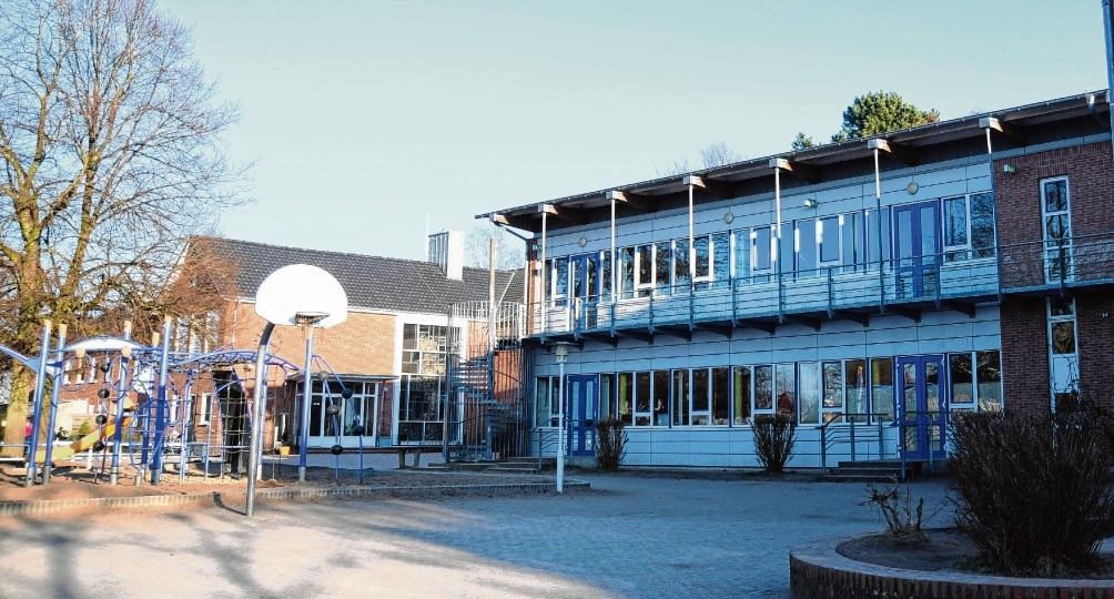 Benötigt dringend neue Klassenräume: Die Klaus-Groth-Schule in Bad Oldesloe.nie