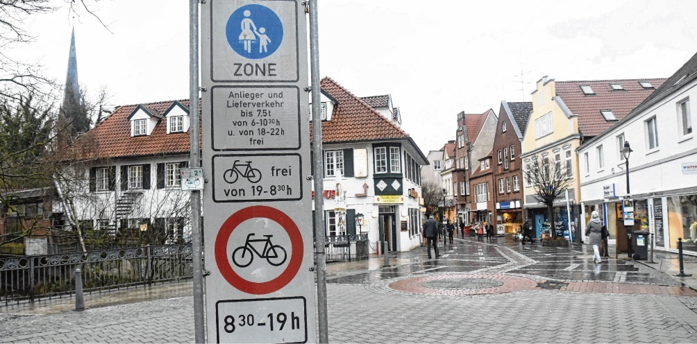 Das Thema Beschilderung gehörte zu den zentralen Diskussionspunkten  beim Treffen der Radfahrer in Bad Oldesloe.nie