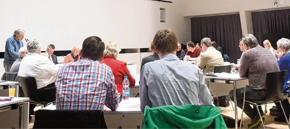 Die Oldesloer Stadtverordnetenversammlung.Niemeier