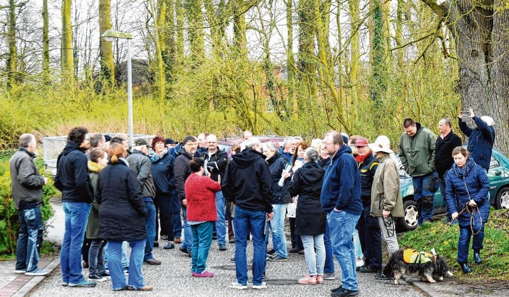 Großes Interesse am  Ortstermin  in RethwischfeldNie