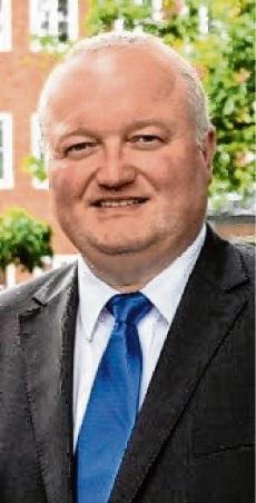 Stormarns Landrat Dr. Henning Görtz. Kreis Stormarn