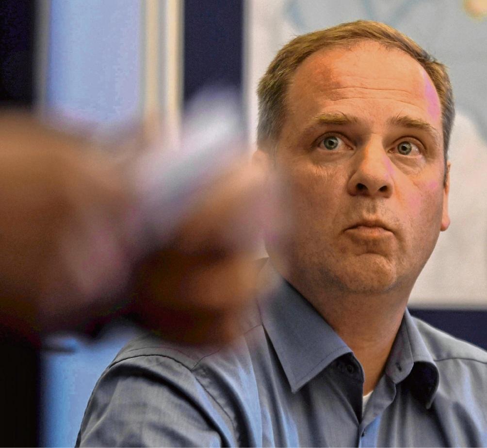 Zunehmend in der Kritik: Matthias Rohde (FBO). Jetzt kam es in der Ausschusssitzung sogar zum Eklat. nie