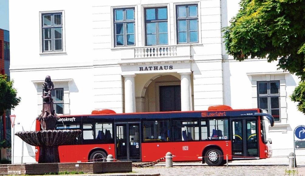 Die Oldesloer Lokalpolitiker wollen den ÖPNV in der Kreisstadt deutlich aufwerten. Dafür kommt ein Halbstundentakt. Nie