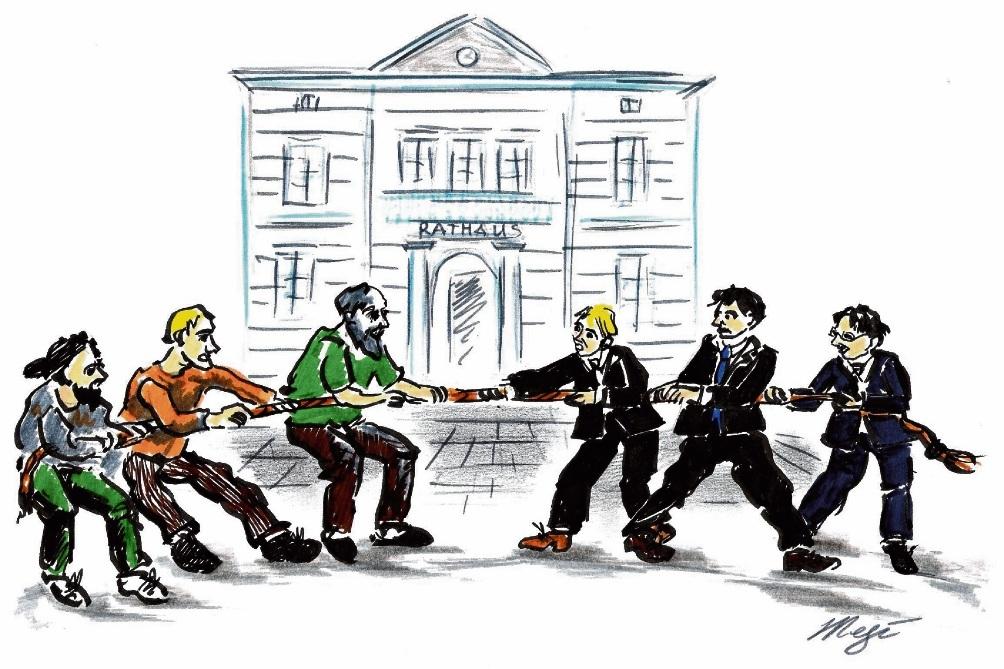 Kommunalpolitisches Tauziehen um die Oldesloer Hagenstraße.Megi Balzer
