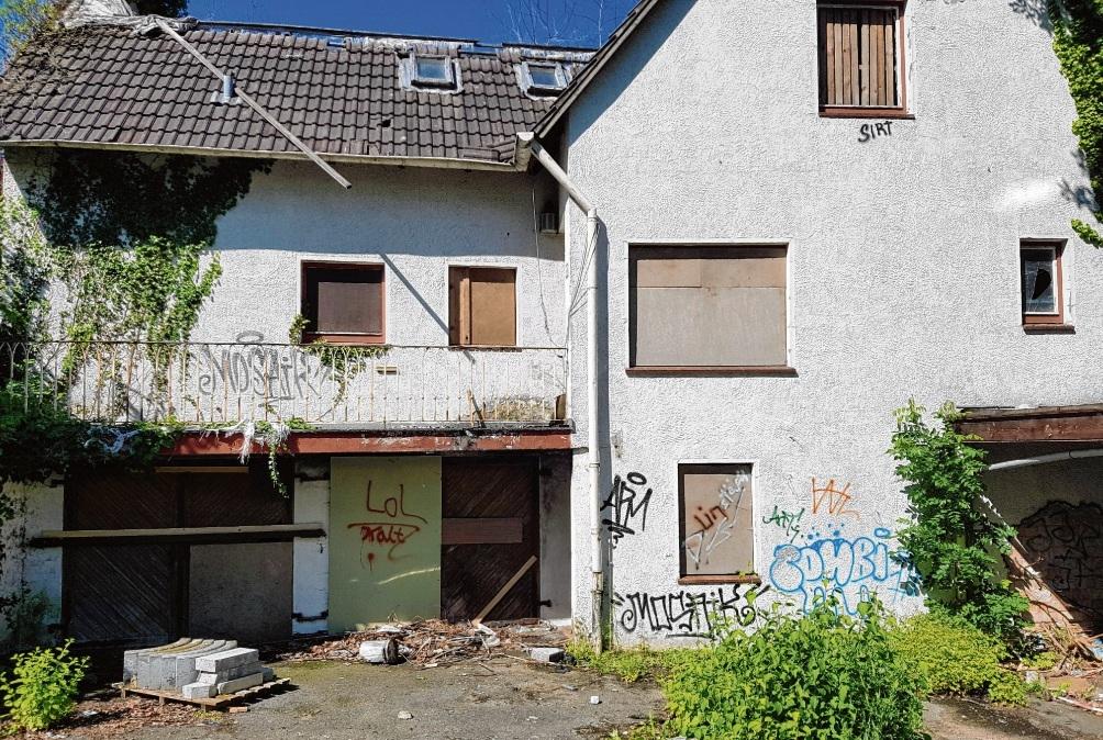 Ruine am Kirchberg.Nie
