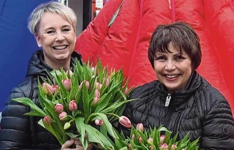Nicole Brandstetter  und Angela Dittmar. niemeier